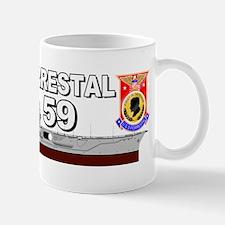 USS Forrestal CV-59 Mugs