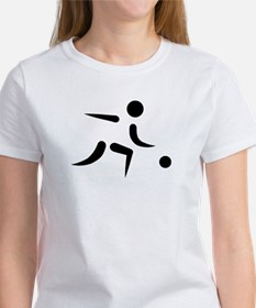 Bowling player icon Tee