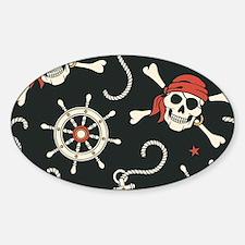 Pirate Skulls Decal