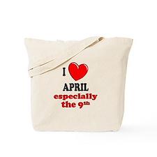 April 9th Tote Bag