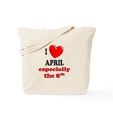 April 8th Tote Bag