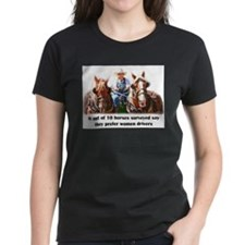 Women Drivers Draft Horse T-Shirt