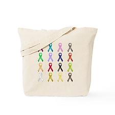 All Colors - Ribbons Tote Bag