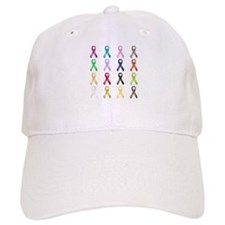 All Colors - Ribbons Baseball Cap