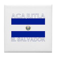 Acajutla, El Salvador Tile Coaster