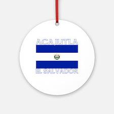 Acajutla, El Salvador Ornament (Round)