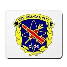 USS Oklahoma City (CLG 5) Mousepad