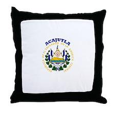 Acajutla, El Salvador Throw Pillow