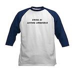 Honk If You Speak Latin! Kids Baseball Jersey