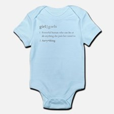 """""""Girls Defined"""" Infant Body Suit"""