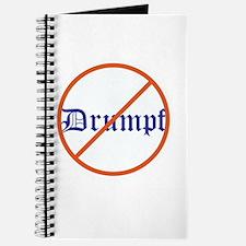Anti Trump! No Drumpf Journal