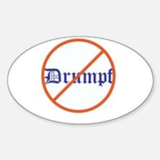 Anti Trump! No Drumpf Decal