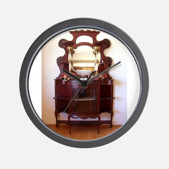 Antique Furniture~Etagere~LilyKo.com Wall Clock