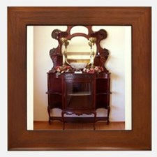 Antique Furniture~Etagere~LilyKo.com Framed Tile