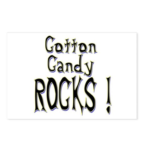 Cotton Candy Rocks ! Postcards (Package of 8)