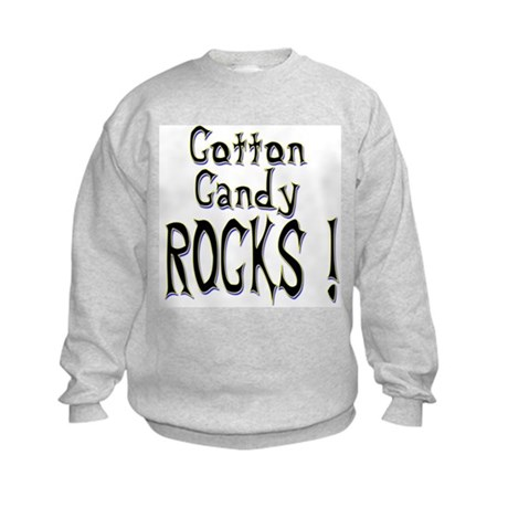 Cotton Candy Rocks ! Kids Sweatshirt
