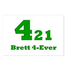 Brett 4-Ever Postcards (Package of 8)