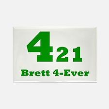 Brett 4-Ever Rectangle Magnet