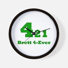 Brett 4-Ever Wall Clock