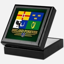 Four Provinces Flag Keepsake Box