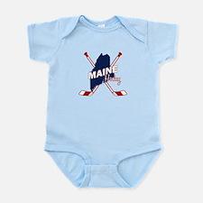 Maine Hockey Infant Bodysuit