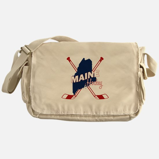 Maine Hockey Messenger Bag