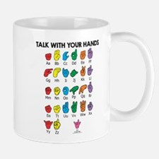 Learn Sign Language Mug