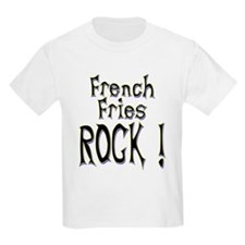 French Fries Rock ! T-Shirt