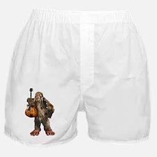 Cute Utah sasquatch Boxer Shorts