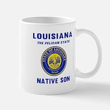 Louisiana Native Son Mugs