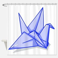Cute Origami Shower Curtain