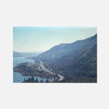 Funny Columbia river gorge Rectangle Magnet