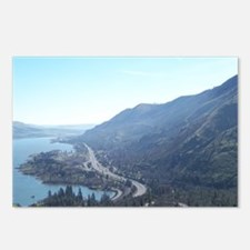 Unique Columbia gorge Postcards (Package of 8)
