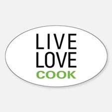 Live Love Cook Decal