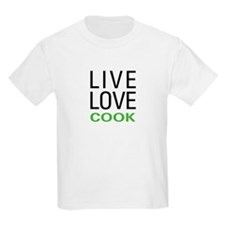 Live Love Cook T-Shirt