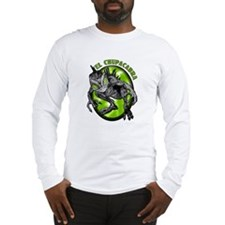 Chupacabra with Background 4 Long Sleeve T-Shirt