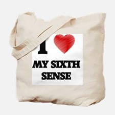 I Love My Sixth Sense Tote Bag
