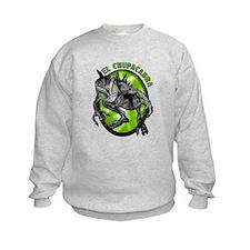Chupacabra with Background 4 Sweatshirt