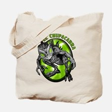 Chupacabra with Background 4 Tote Bag