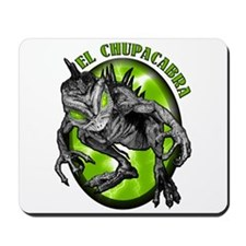 Chupacabra with Background 4 Mousepad