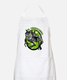 Chupacabra with Background 4 BBQ Apron