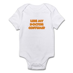 Halloween Doctor Costume Infant Bodysuit