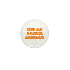 Halloween Doctor Costume Mini Button (100 pack)