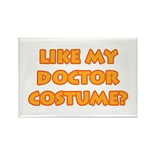 Halloween Doctor Costume Rectangle Magnet