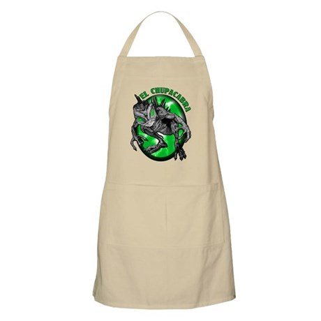 Chupacabra with Background 5 BBQ Apron
