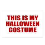 This is My Halloween Costume Postcards (Package of