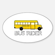 BUS RIDER Decal