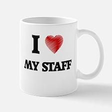 I love My Staff Mugs
