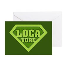 Locavore Greeting Card