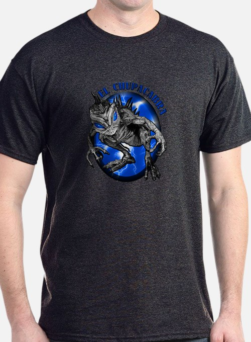 Chupacabra with Background 8 T-Shirt